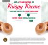Year Supply of Krispy Kreme