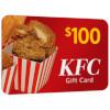 $100 KFC Gift Card