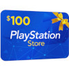 $100 Playstation Store Gift Card