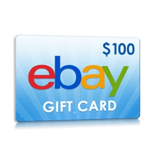$100 Ebay Gift Card