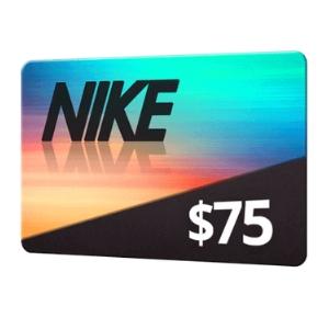 $75 Nike Gift Card