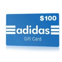 $100 Adidas Gift Card