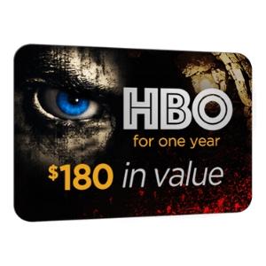 HBO 1 Year Membership