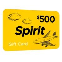 $500 Spirit Gift Card