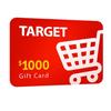 $1000 Target Gift Card