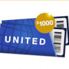 $1000 United Airlines Gift Card