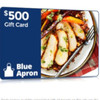 $500 Blue Apron Gift Card