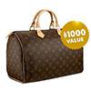 $1000 Louis Vuitton Designer Bag