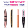 Tests et Echantillons: Mascara
